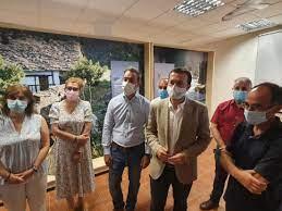 """Escudero anuncia una """"inversión histórica"""" de 2,5 millones para mejorar los espacios naturales protegidos"""