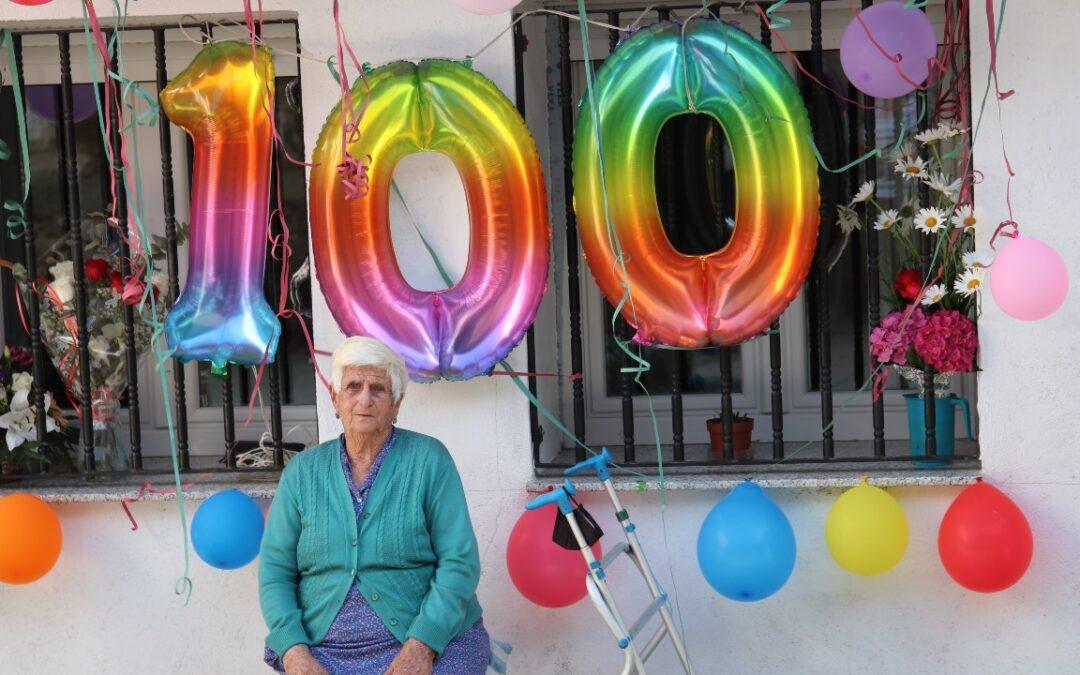 Dionisia cumple 100 años