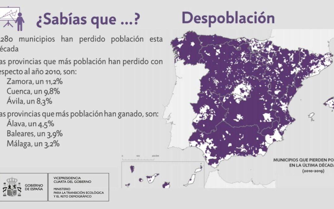 Zamora. La despoblación afecta al 96% de sus municipios.