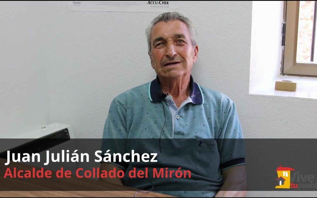 La Diputación de Ávila expresa su pésame por el fallecimiento del alcalde de Collado del Mirón