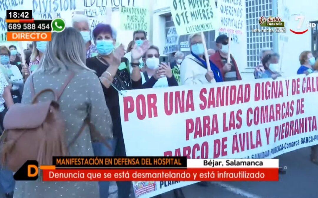 Vecinos reclaman que reabran la hospitalización en el Hospital del Béjar